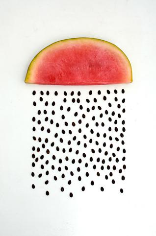 #charmcolorfully watermelon rain