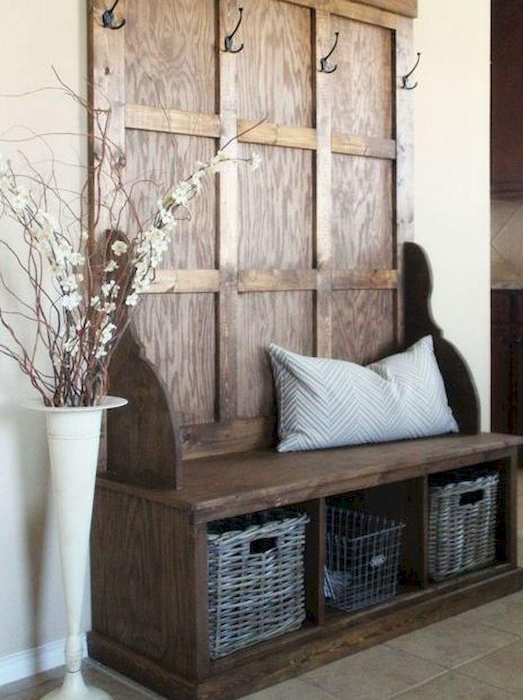 70 modern farmhouse entryway decorating ideas log home