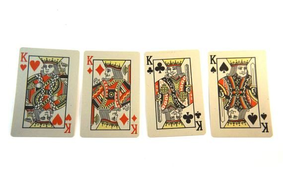 Vintage Cards For Poker Deck Of Cards Set 54 Playing Card Set