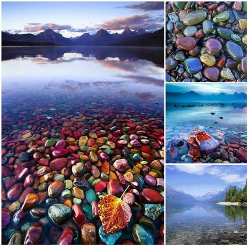 Places To Visit In Montana Usa: Lake Mcdonald, Montana, USA #usa #montana #travel #nature
