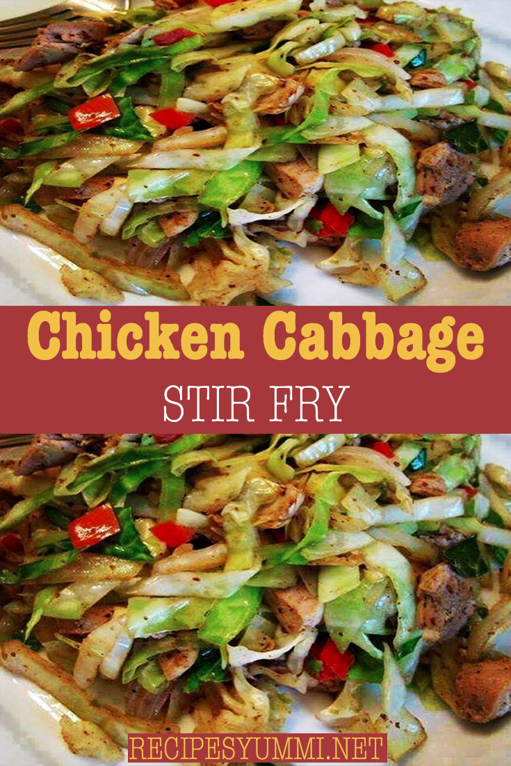 Chicken Cabbage Stir Fry #healthystirfry