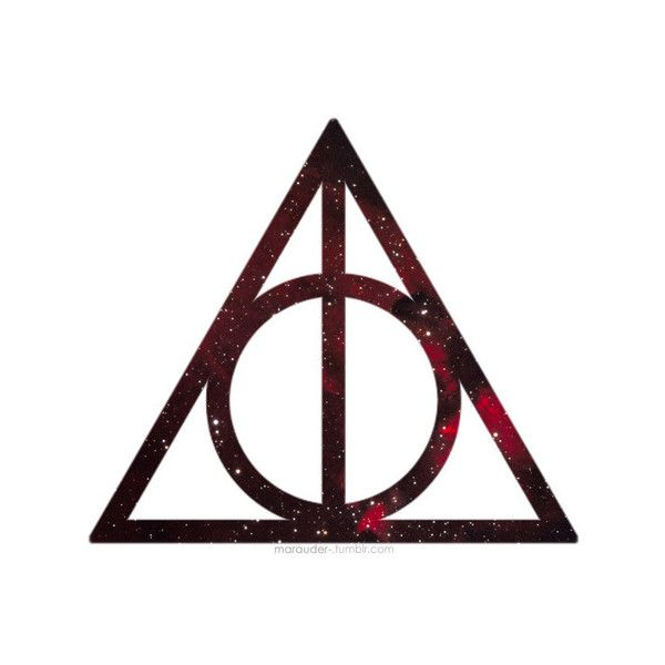 Harry Potter And The Deathly Hallows Symbol Cloak Of Invisibility