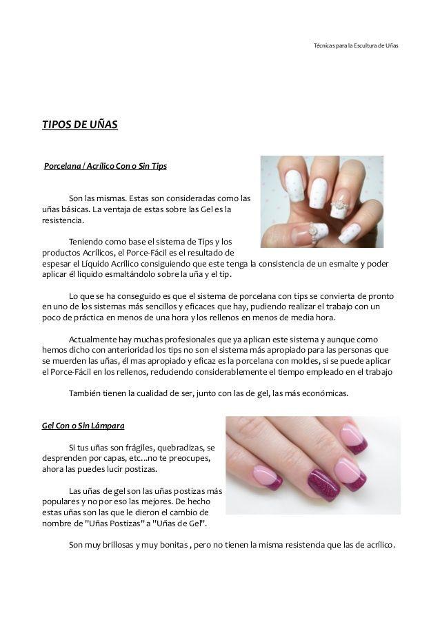 Uñas Acrílicas Y De Gel Organic Nails Manicure Nail Tech School