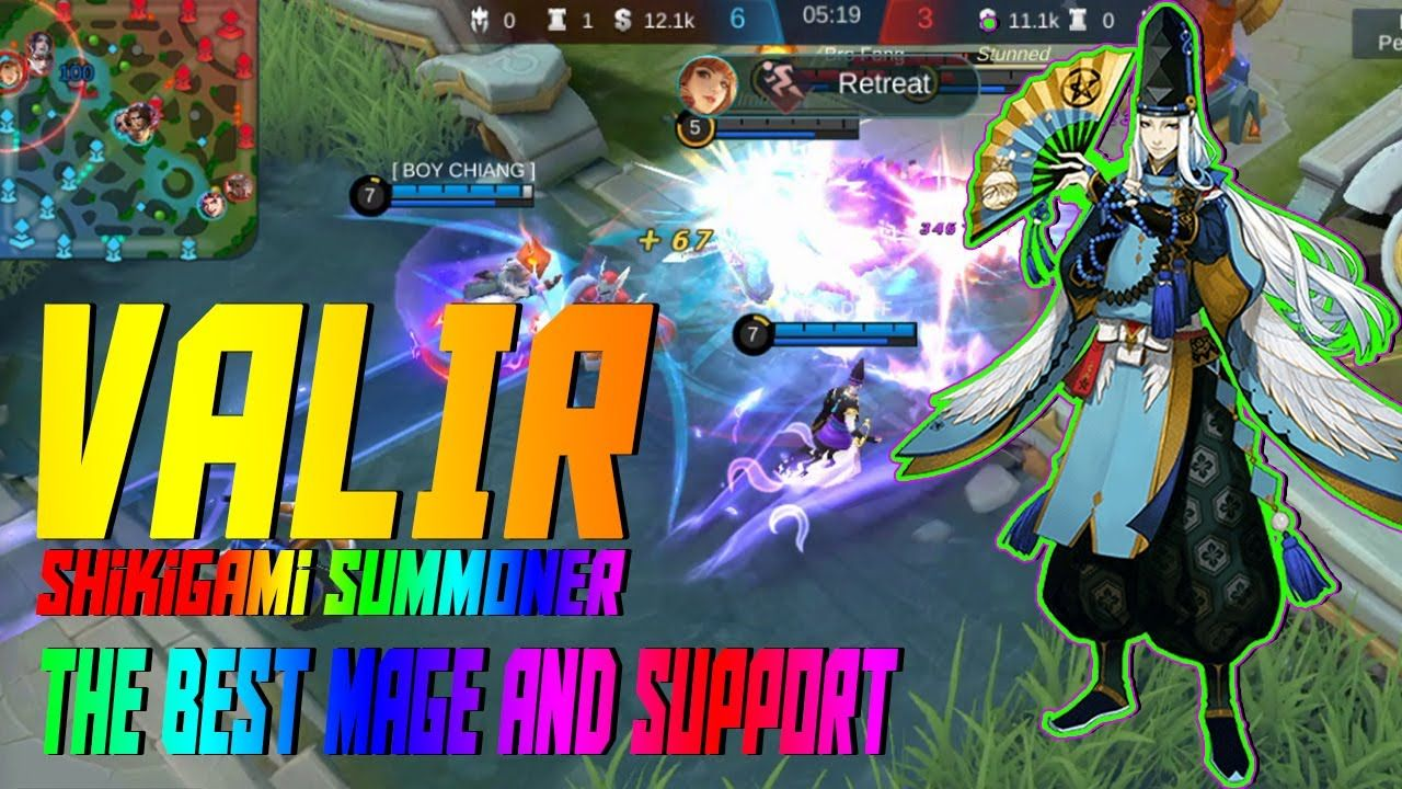 Valir Top Mage And Support In New Meta Mobile Legends In 2020 Mobile Legends Legend Games Legend