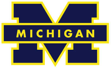 File Michigan Wolverines Logo Svg University Of Michigan Logo University Of Michigan Wolverines Michigan Football