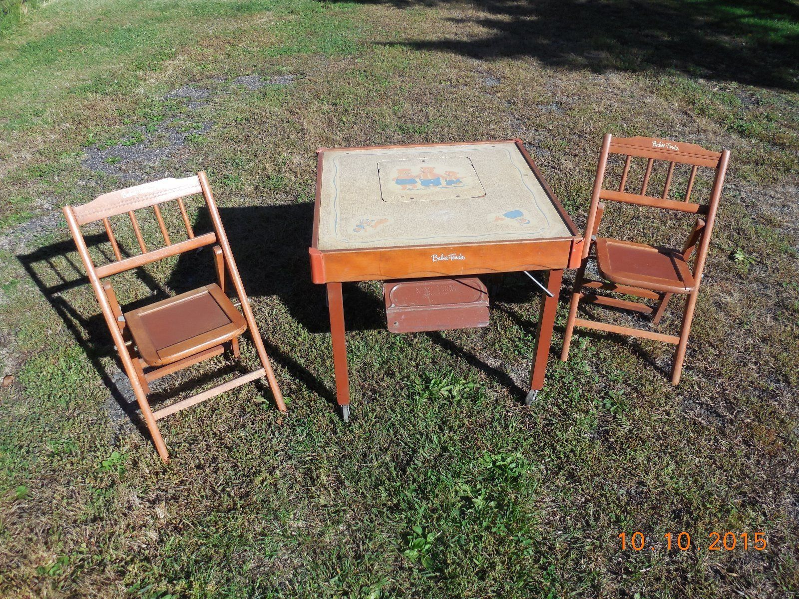 Vintage Babee•Tenda Safety Feeding Table #HighChair #BoosterSeat ...