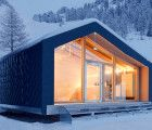 LEAPfactory unveils prefab snowboard school at the foot of Mont Blanc