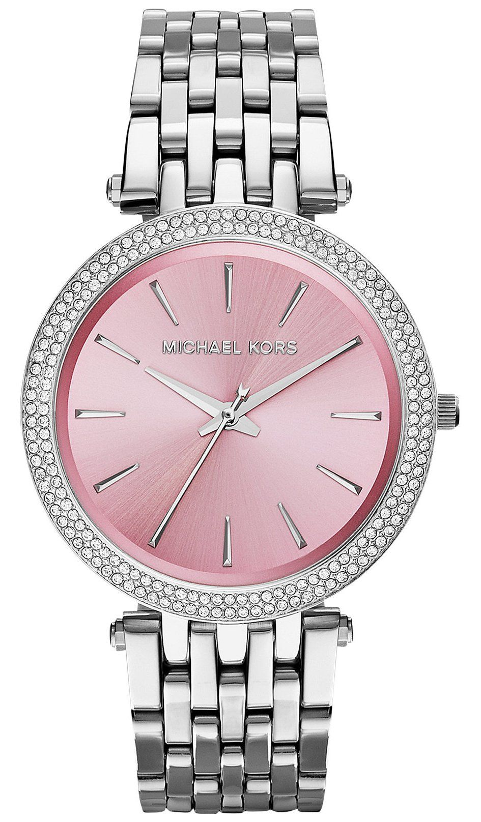Michael Kors Watches Darci Watch (Silver)  4e5e436b3e