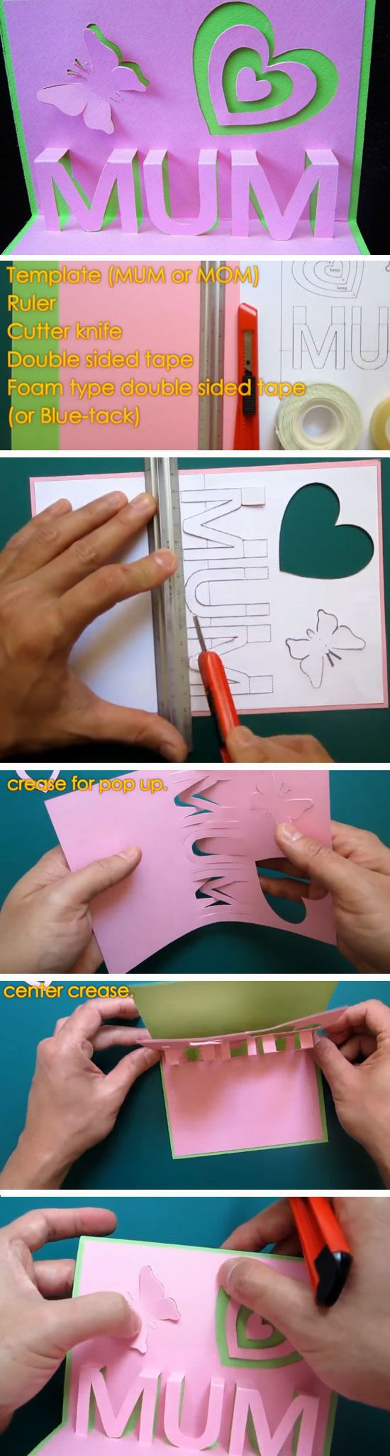 15 Diy Mothers Day Card Ideas For Children Mothers Day Mother S