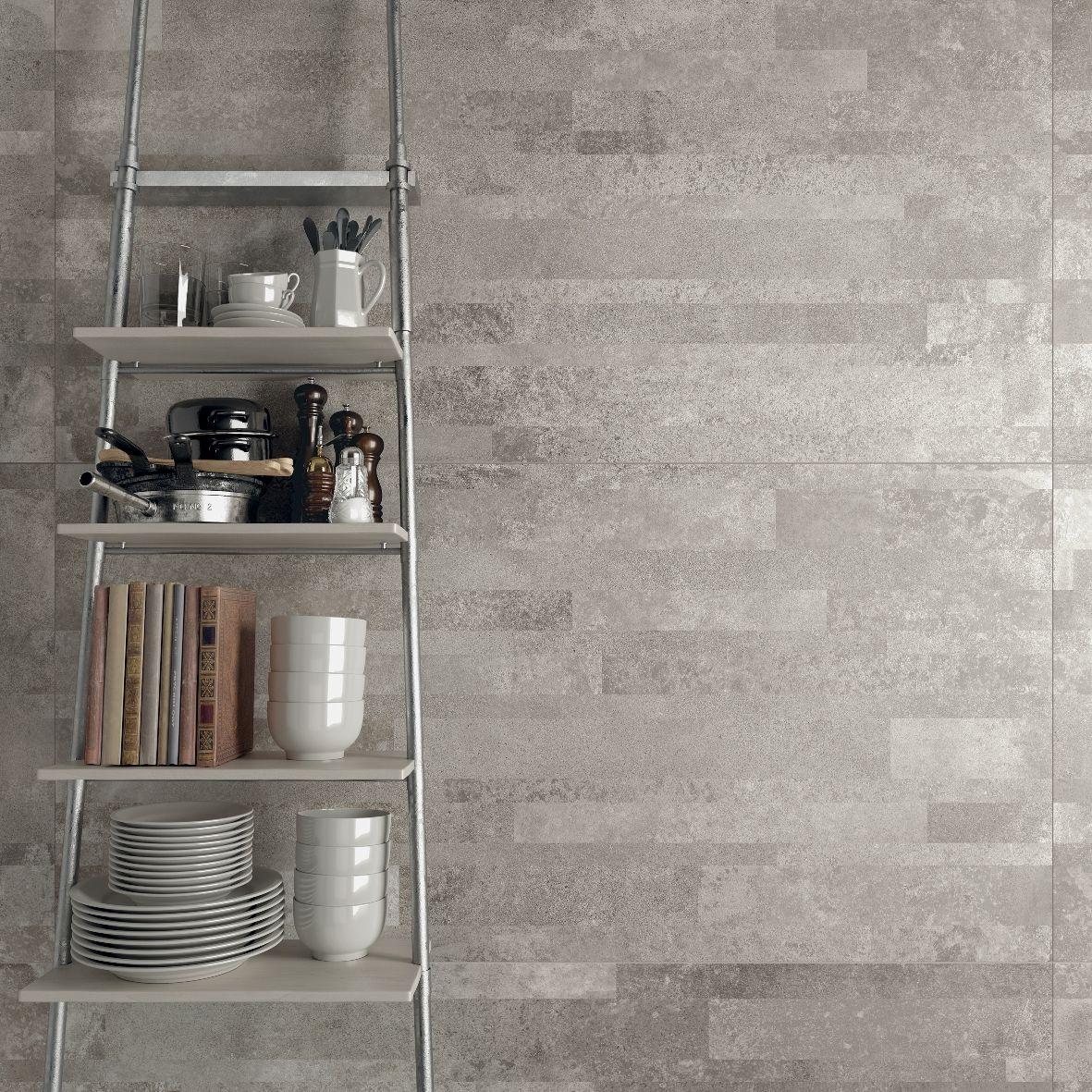 Tiles And Decor Dettaglio Di Stile #abkemozioni #wall Unika Illusion Grey In