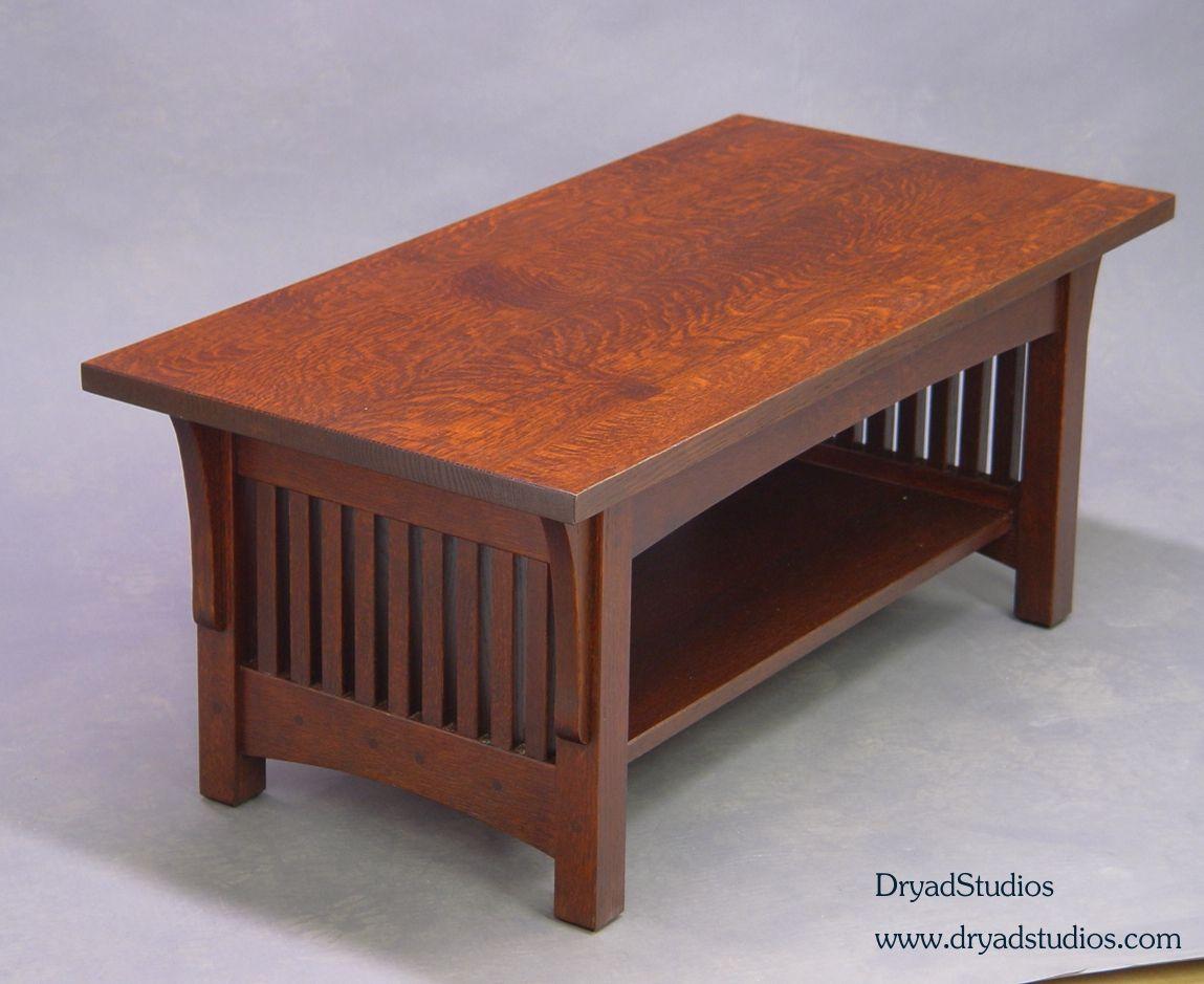 Quartersawn Oak Mission Arts Crafts Craftsman Stickley Style
