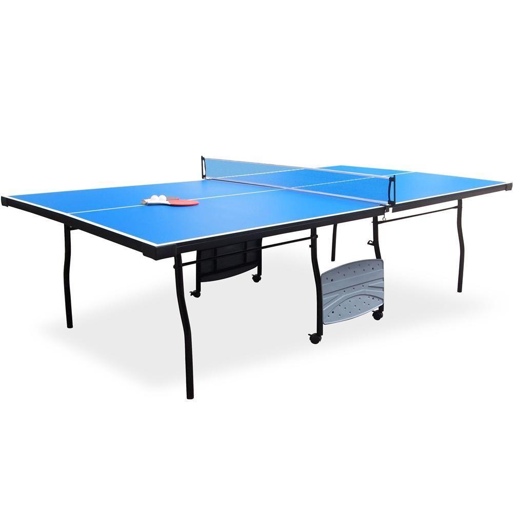 Mesa De Tenis De Mesa Ping Pong Md Sports Medidas Oficiais Tampo Em Mdp 15mm Dobravel Pes Em Aco Com Rodizios Ac Tenis De Mesa Mesa De Ping Pong Raquetes