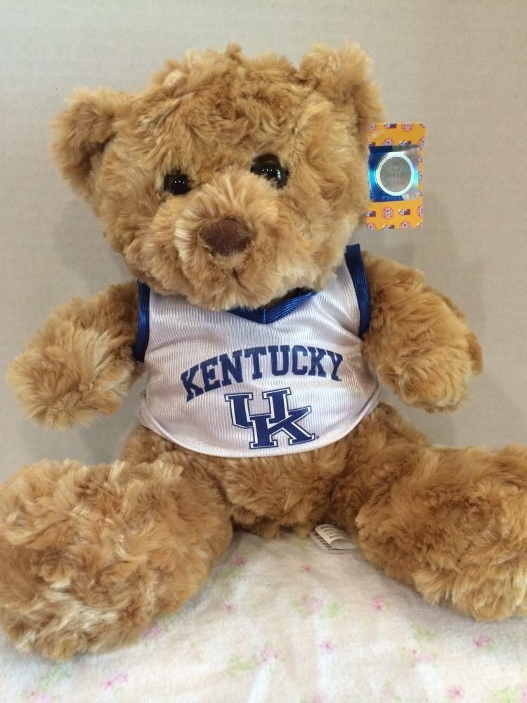 Kentucky Wildcats Ncaa 9 Plush Teddy Bear Uk Plushland Sitting Bear