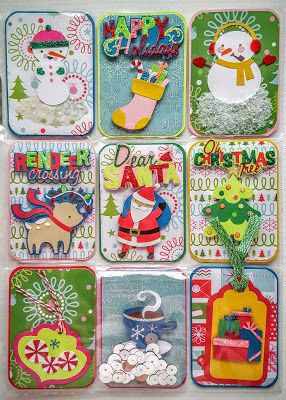 Monique Leslie, Misfit Crafter: Pocket Letter-What I love about Christmas Video too