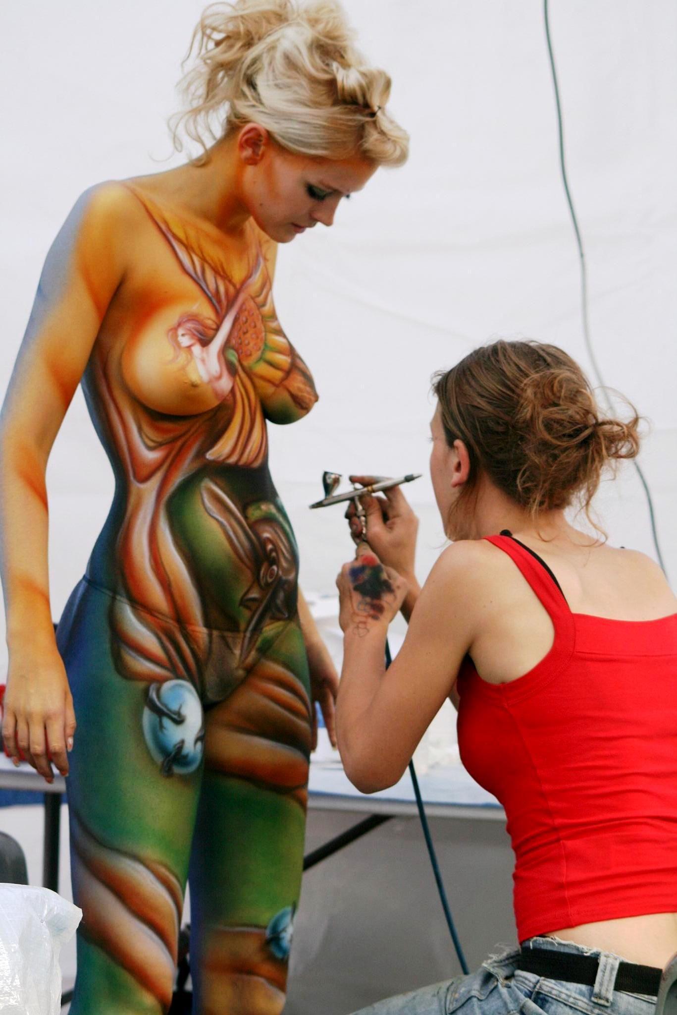 Art Body Painting Festival