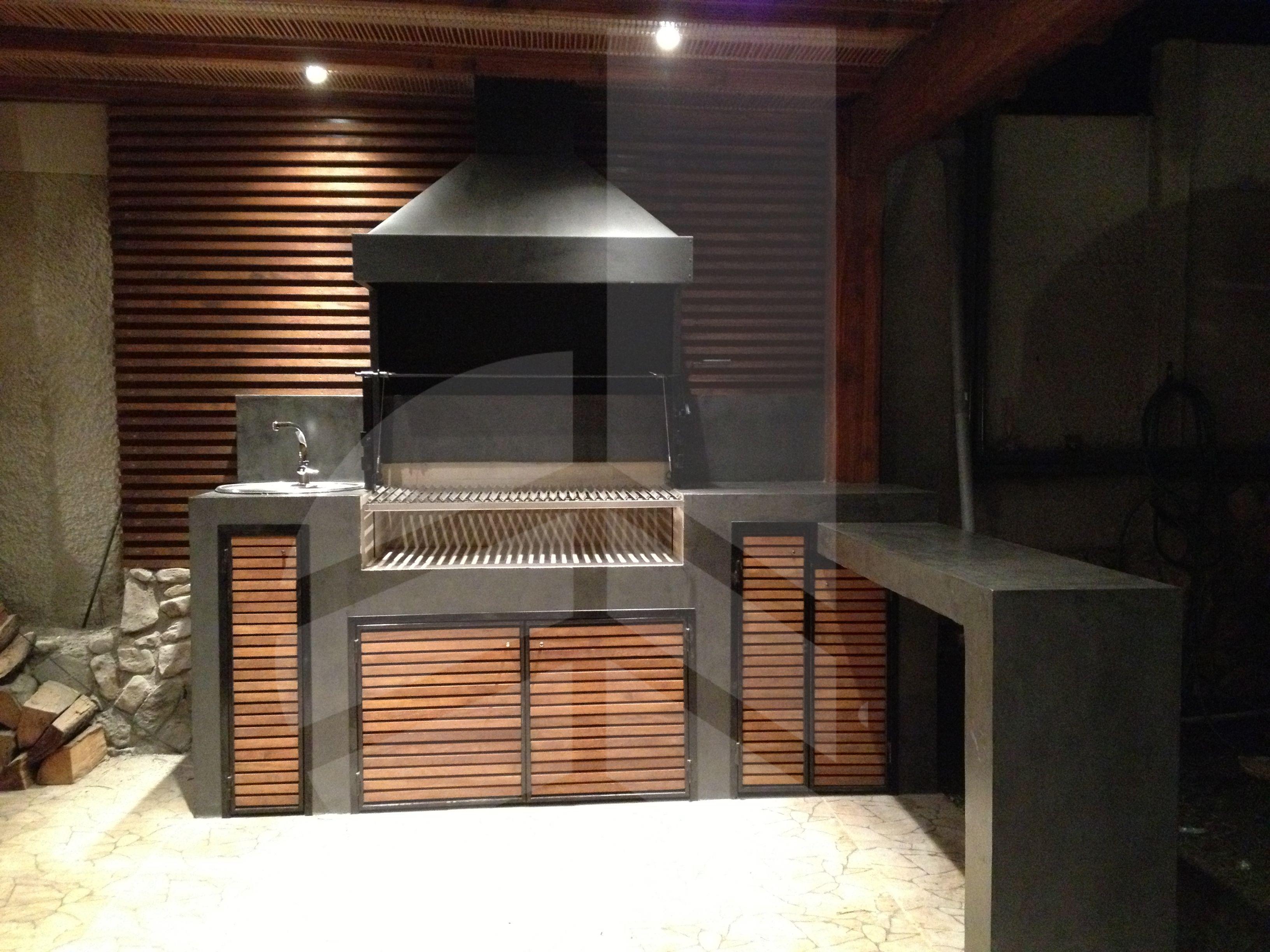 Detalle de quincho iluminado | Arquitectura | Pinterest | Quinchos ...