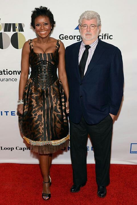 Is george lucas dating mellody hobson
