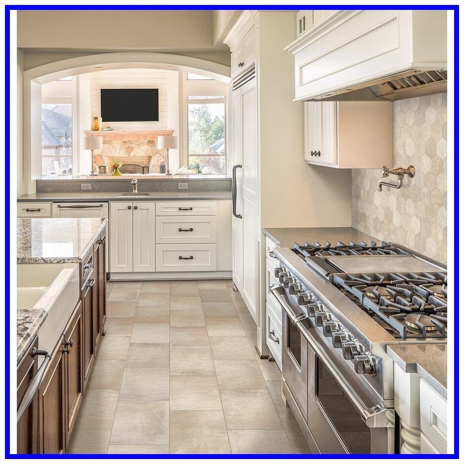 53 Reference Of Floor Tile Beige Commercial Restaurant Kitchen Floor Floor Til In 2020 Kitchen Flooring Options Best Flooring For Kitchen Interior Design Kitchen Small