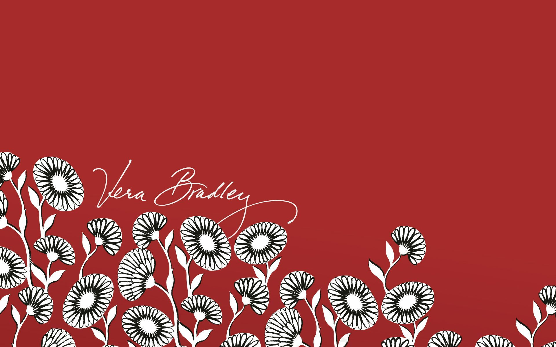 vera bradley deco daisy desktop wallpaper