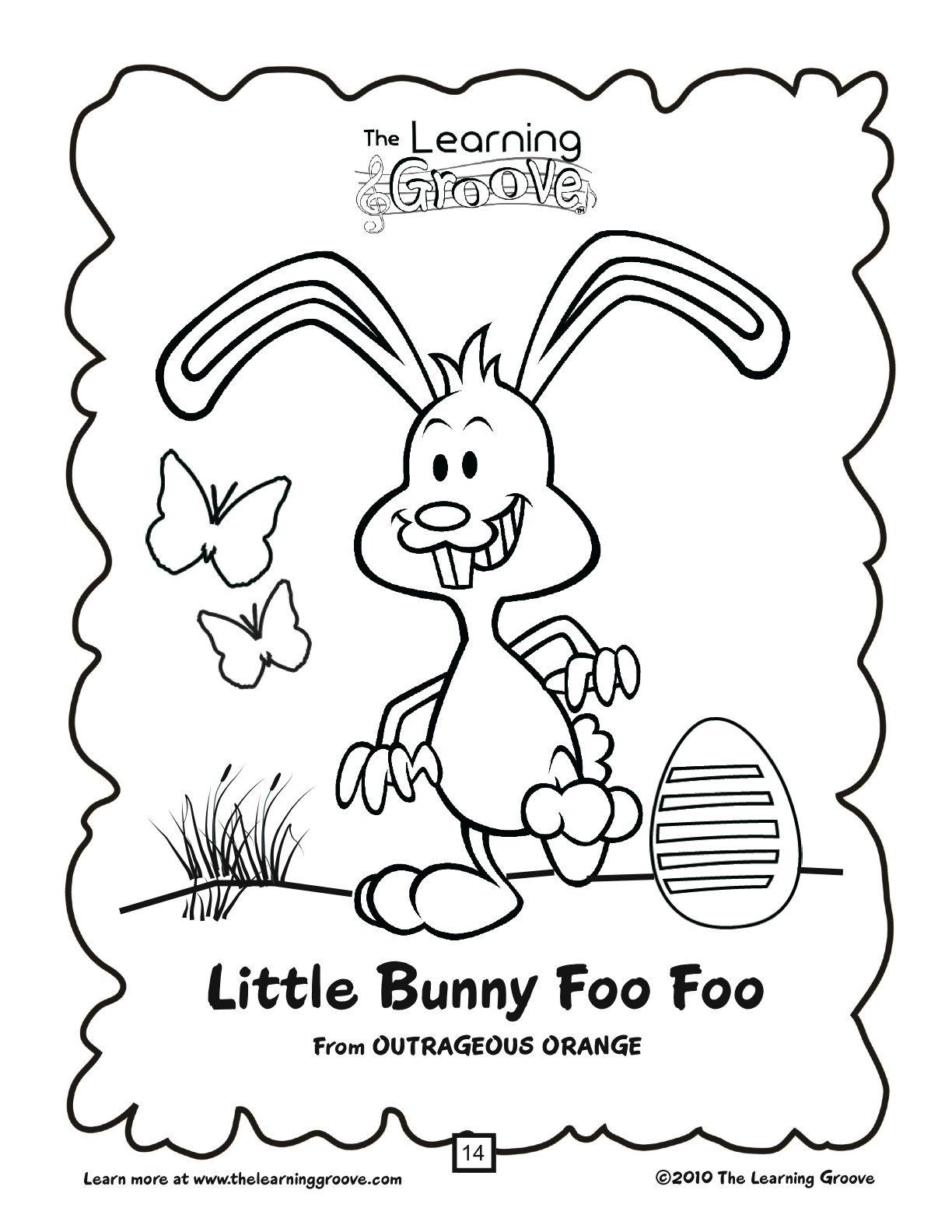 Little Bunny Foo Foo like you have never heard it before
