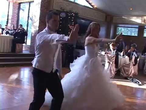 BEST WEDDING DANCE EVER Ryan And Leah Claxton
