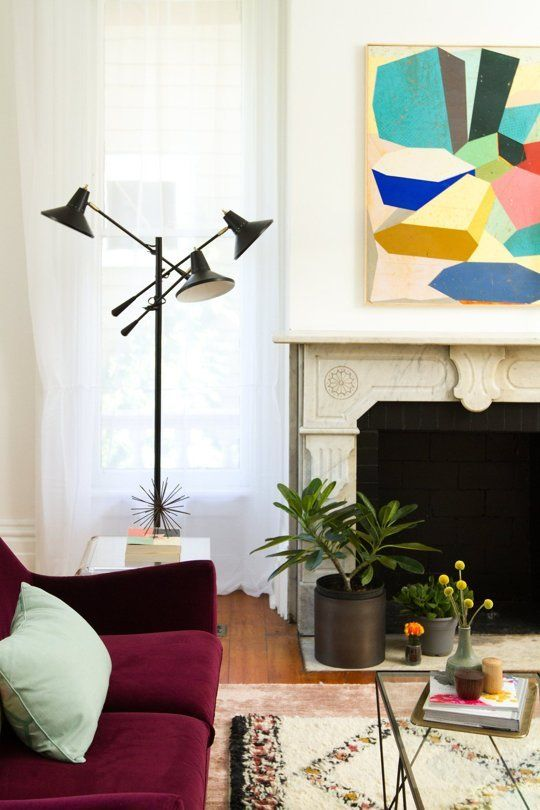 Before & After: A Small Victorian Living Room Gets an Apartment Therapy Makeover