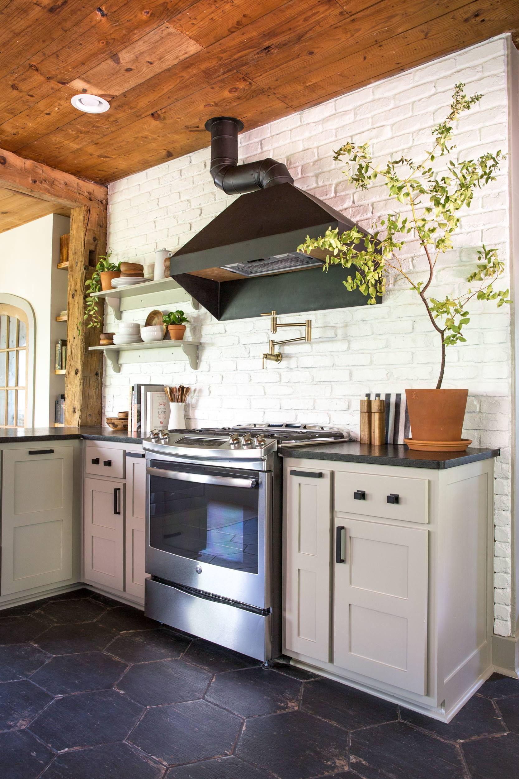 episode 15 the giraffe house kitchen flooring kitchen tiles design fixer upper kitchen on farmhouse kitchen flooring id=60744