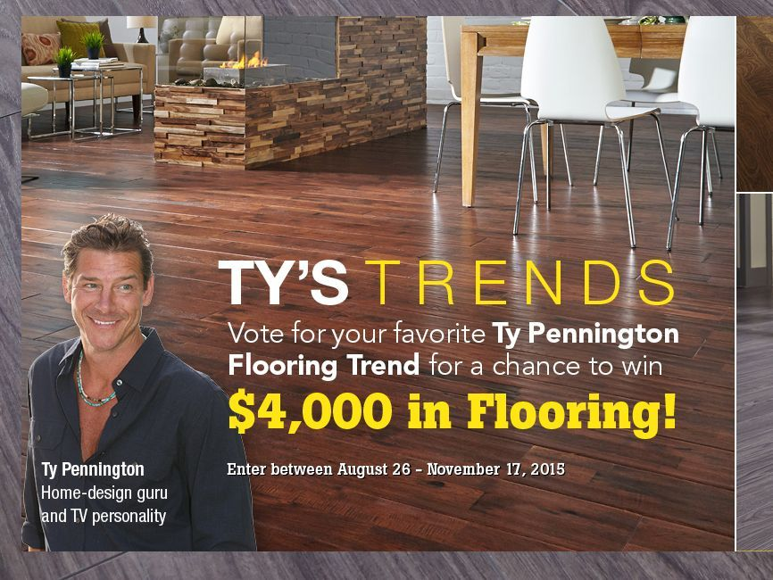 Enter the tys trends sweepstakes for a chance to win a
