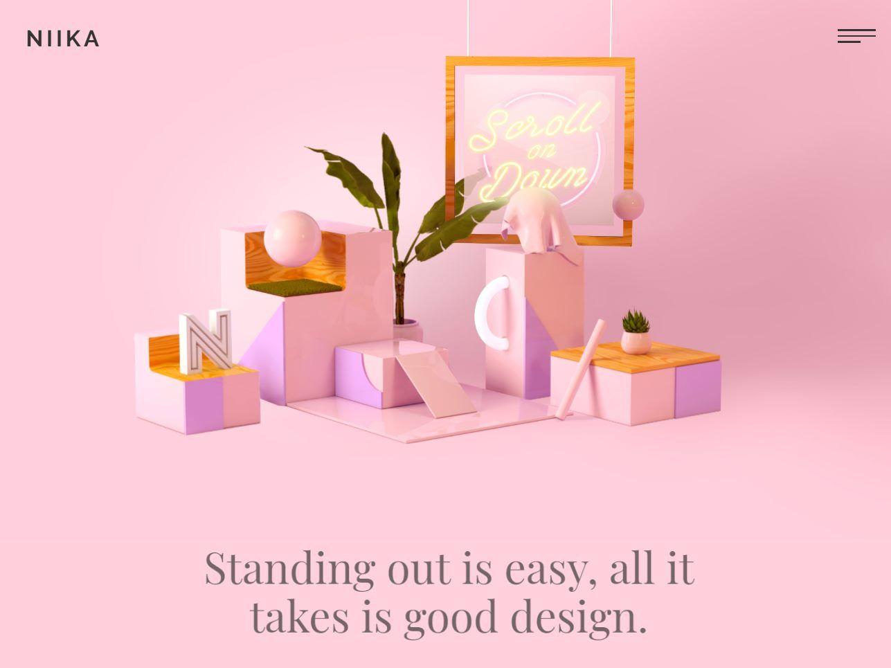 Niika Visualmodo Awards Website Design Inspiration Web Design Agency Web Design