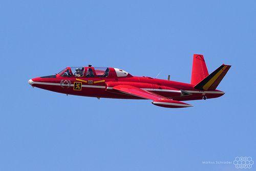 Fouga Magister Mt 5 N216dm Belgian Air Force