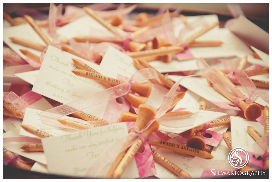 Wedding Favors Golf Tees