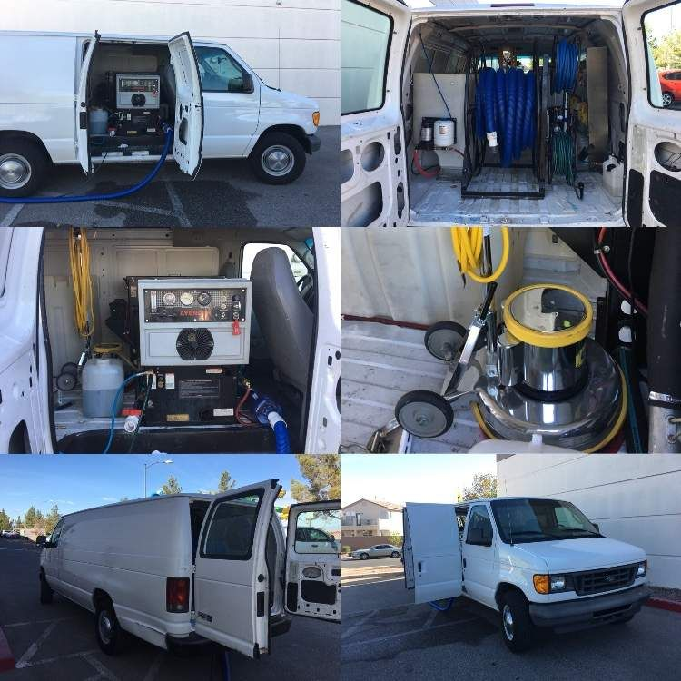 Carpet Cleaning Van Ford E350 Fully Loaded Deeps