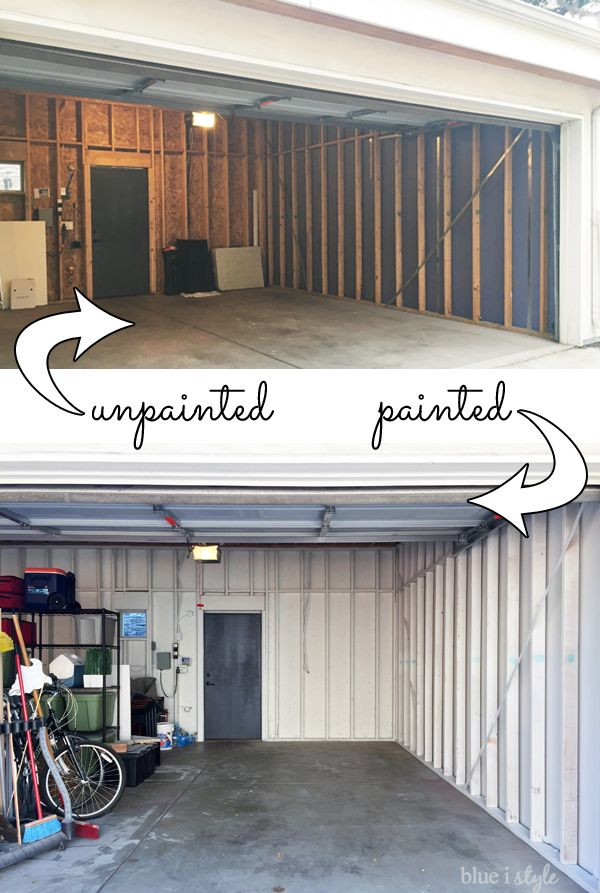 Creating A Finished Garage On Shoestring Budget