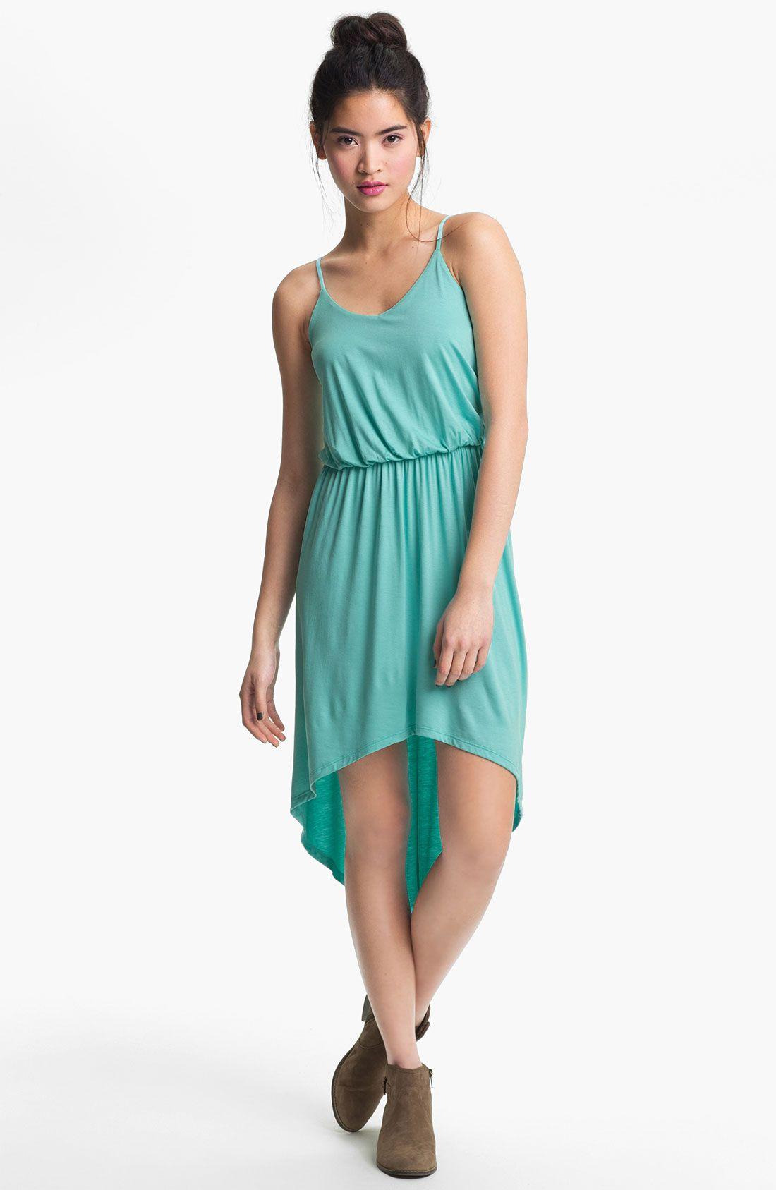 Lush High/Low Dress (Juniors) | Nordstrom