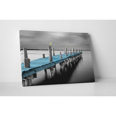 """PingoWorld """"Tiempo Sharp Pop"""" by Moises Levy Photographic Print on Wrapped Canvas Size: 20"""" H x 30"""" W x 0.69"""" D"""