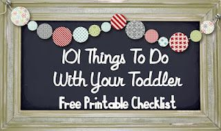 101 Fun Things To Do With Your Toddler