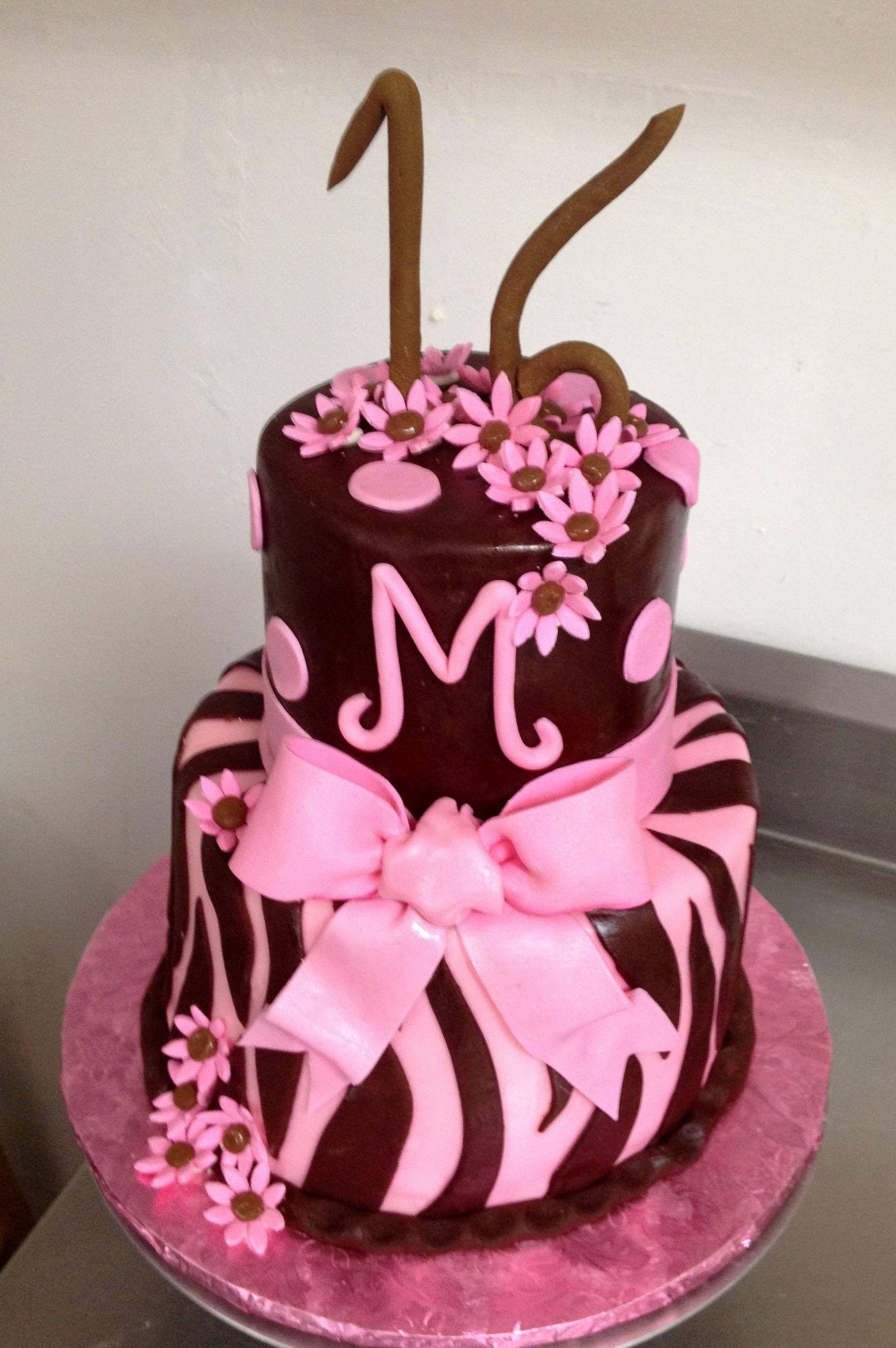Pink & Brown 16