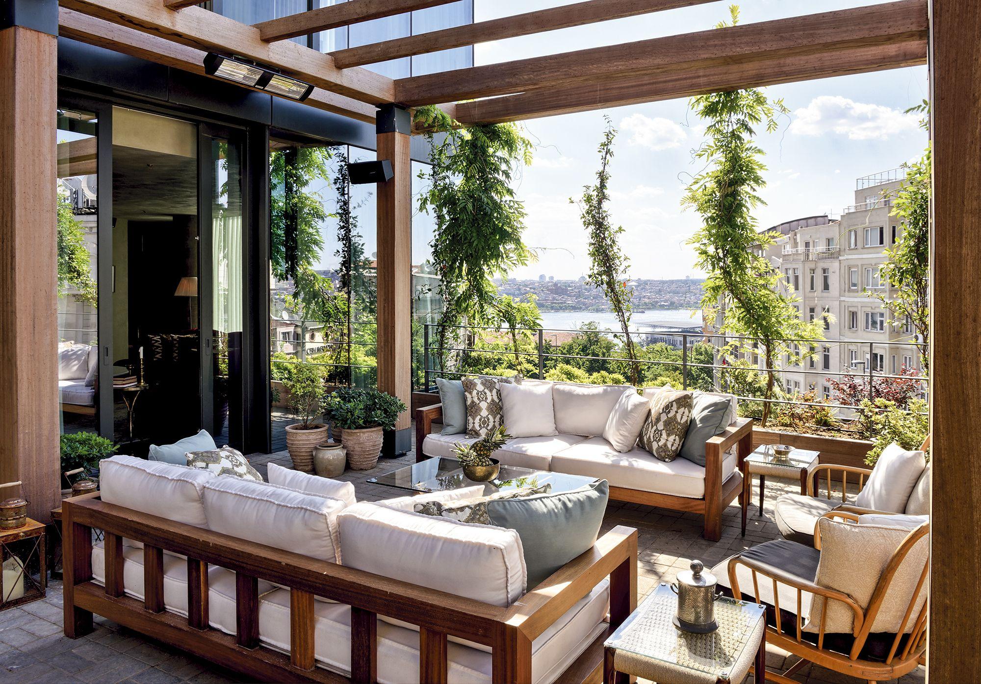 soho house istanbul apartments patio pinterest