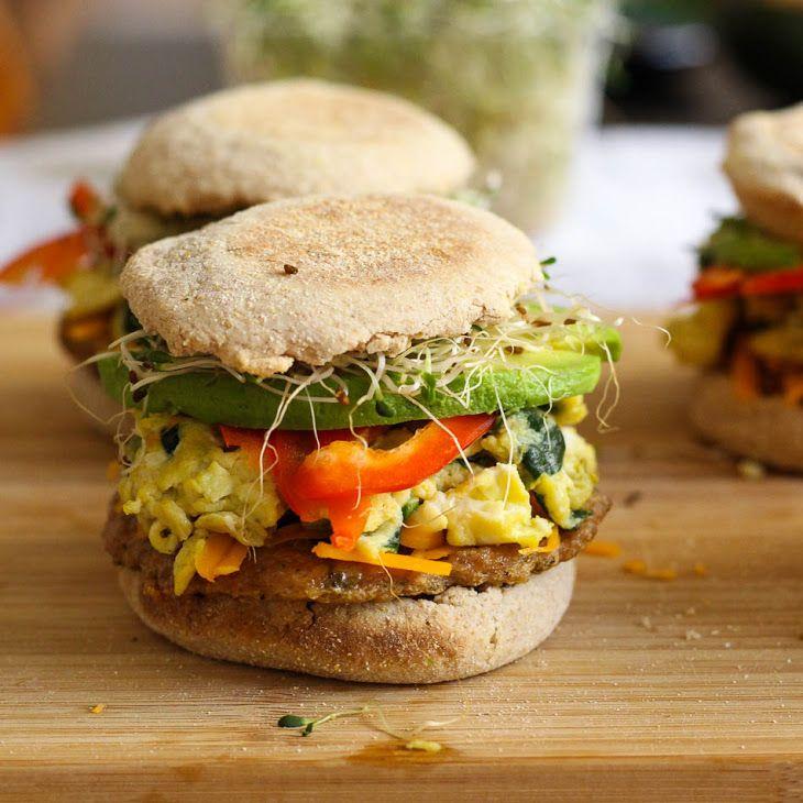 Freezer Friendly Healthy Breakfast Sandwiches Recipe In 2019