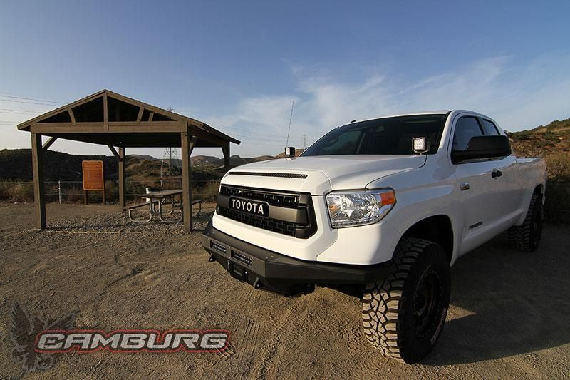07-Current Toyota Tundra Camburg CTE Front Bumper | Toyota Tundra