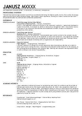 Bilingual architect resume
