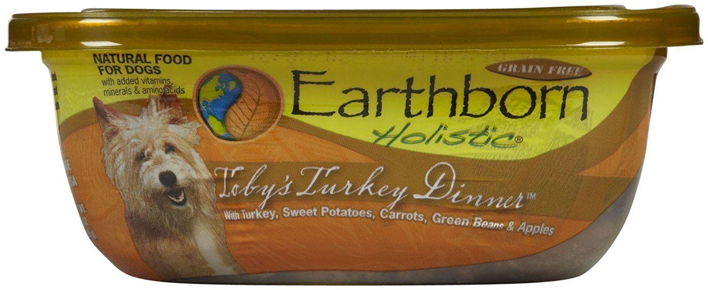 Earthborn holistic tobys turkey dinner can pet food 8