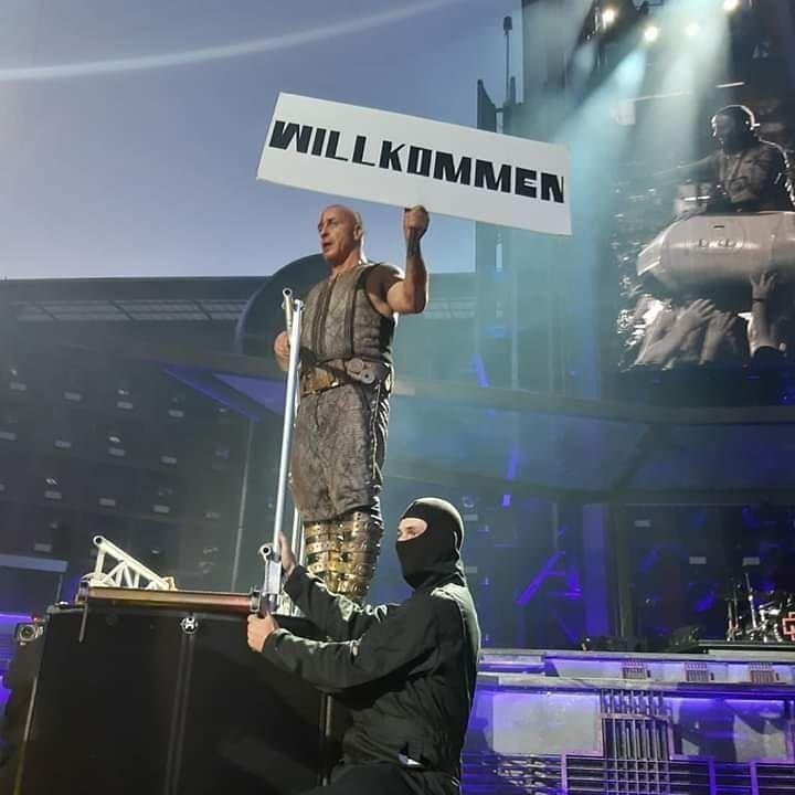 Rammstein on Instagram: Rammstein concert in Prague