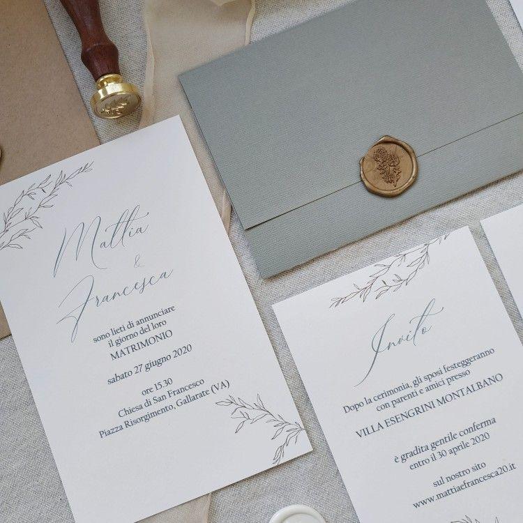 Wedding Invitation Modello Bianca Catalogo Momo Wed 2021 Nel 2020 Inviti Di Nozze Partecipazioni Per Matrimonio Inviti