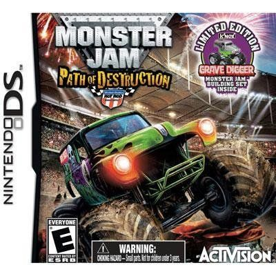Nice New Monster Jam Path Of Dstrc Ds By Activision Blizzard Inc