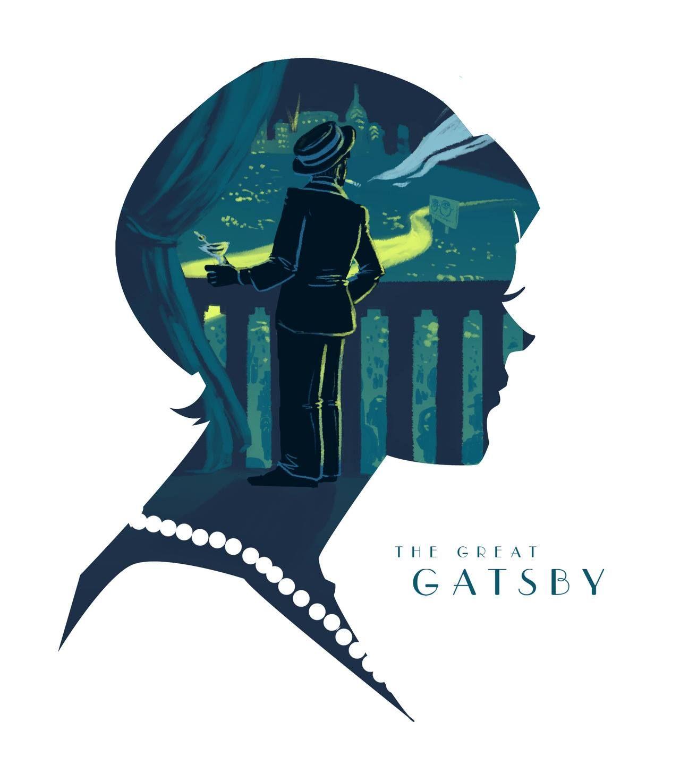Resultado de imagen para great gatsby fanart