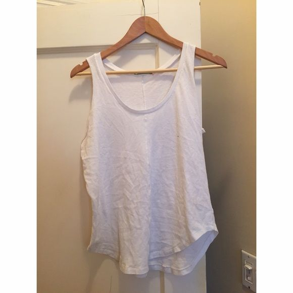 Alternative Apparel white tank Super soft and comfortable . Hardly worn Alternative Apparel Tops Tank Tops