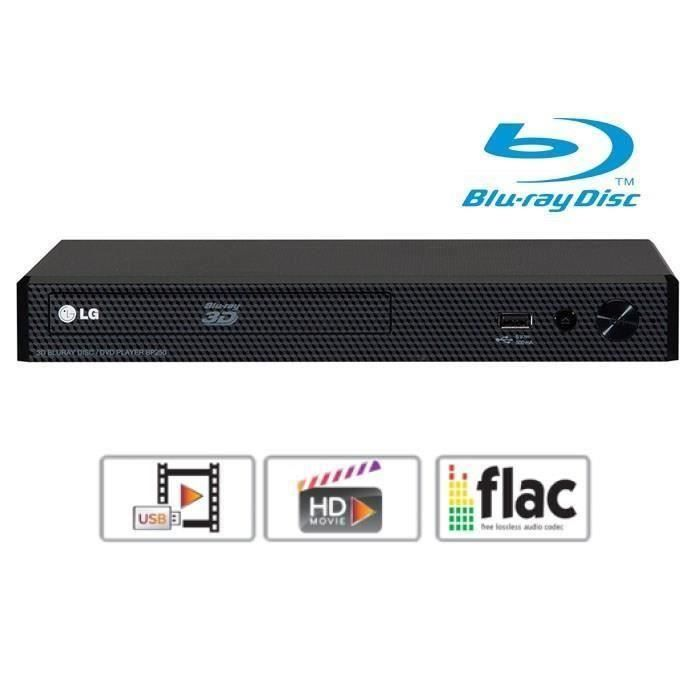 LG BP250 Lecteur Bluray DVD Full HD USB Lecteur, Blu