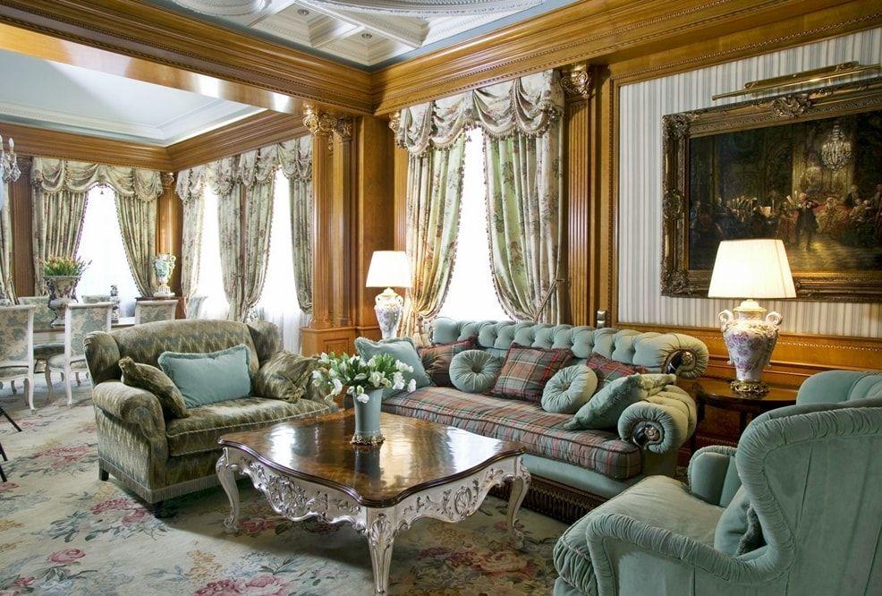 Викторианский стиль в интерьере: описание и фото-примеры ...