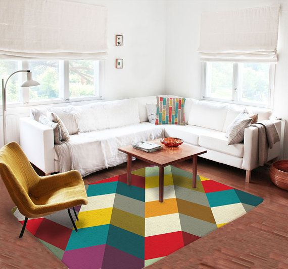 Area Rugs Accent Rugs Decorative Rugs Living Room Rugs 5x8 Rugs Modern Rugs Carpet Colorful R Rugs In Living Room Rug Decor Modern Rugs